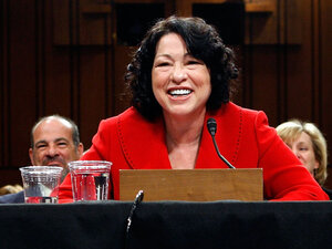 Sonia Sotomayor Confirmation
