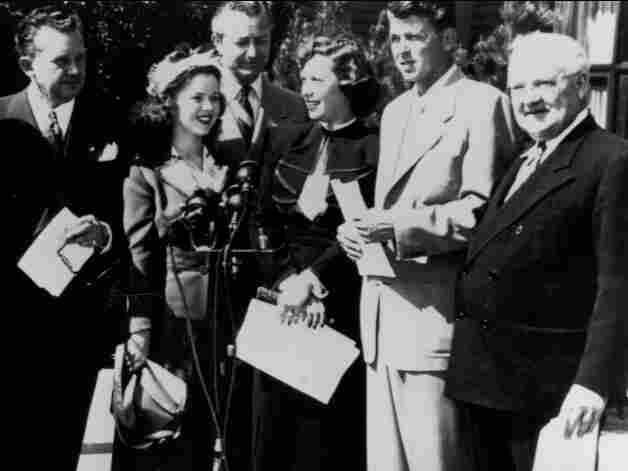 The 1941 groundbreaking for the 'motion picture home'