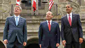 North American Leaders Vow Cooperation At Summit