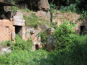The site of the tomb near Cerveteri where the Euphronios vase was found