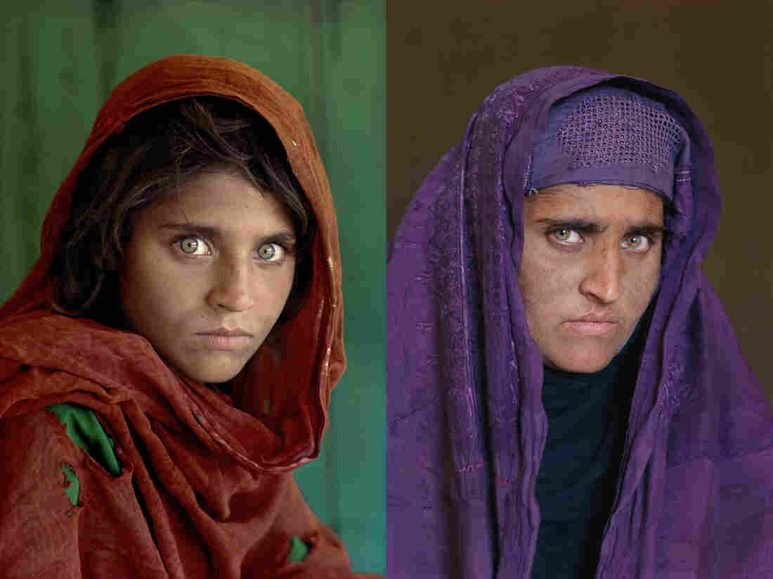 McCurry's 'Afghan girl.'