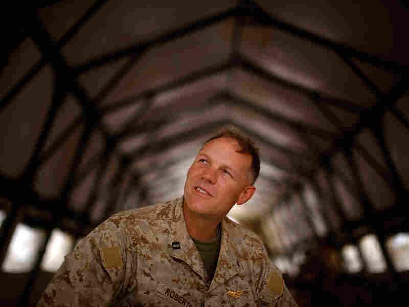 Marine Chaplain Lt. Terry Roberts
