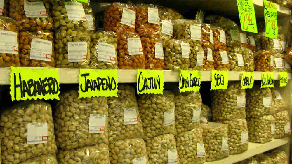 Pistachios at Pedrick Produce (Wide)