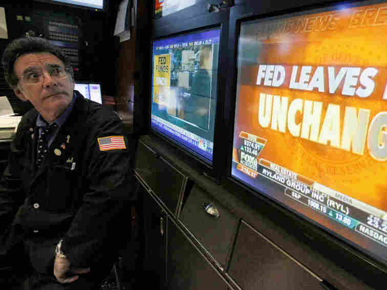 The Federal Reserve on Wednesday held interest rates steady.