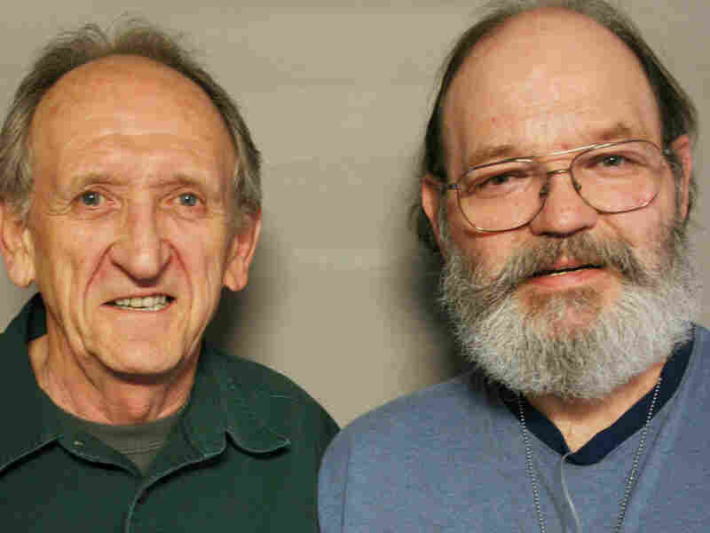 Jim (left) and Don Sargent  visited StoryCorps in Salt Lake City, Utah.