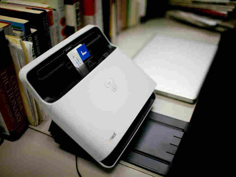 The NeatDesk scanner