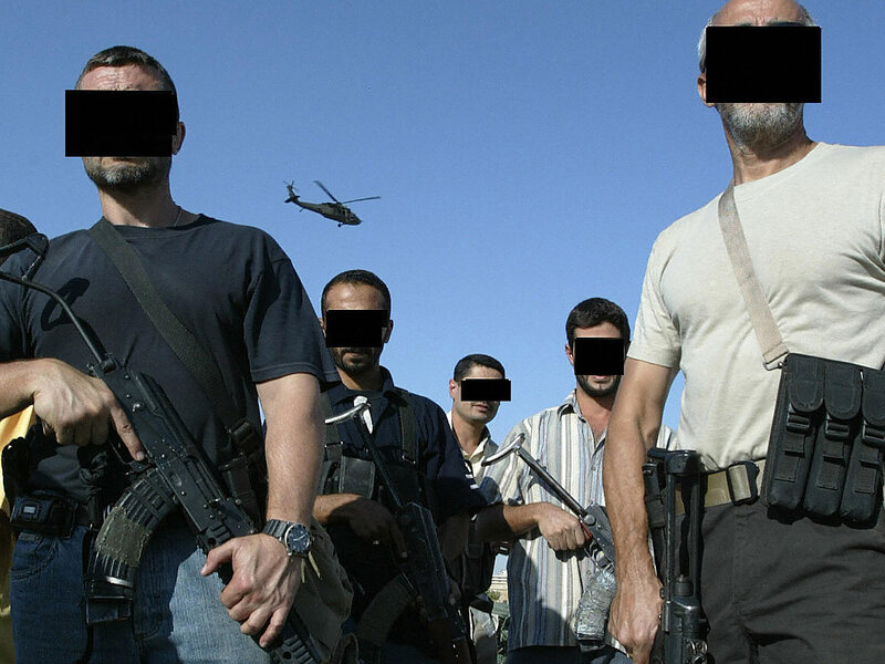 The Nation Blackwater Armed And Dangerous In Iraq Npr