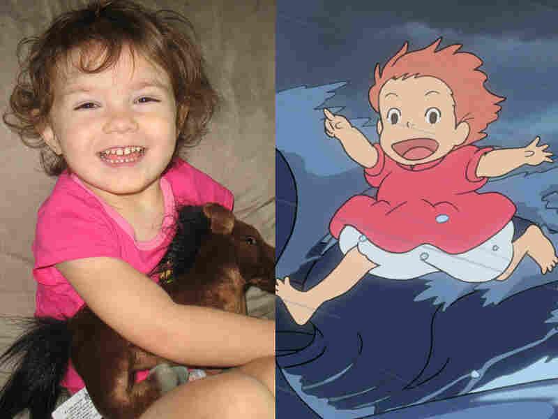 Kayleigh and Ponyo