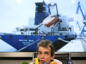 Mikhail Voitenko, editor of the online Maritime Bulletin-Sovfracht