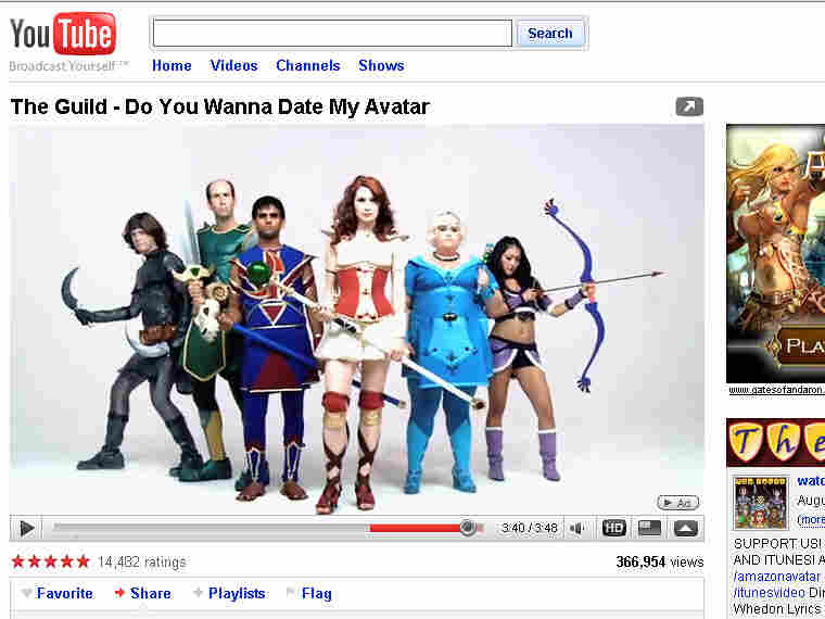 Even with viral Web hits — like this one for a music video — YouTube is not profitable.