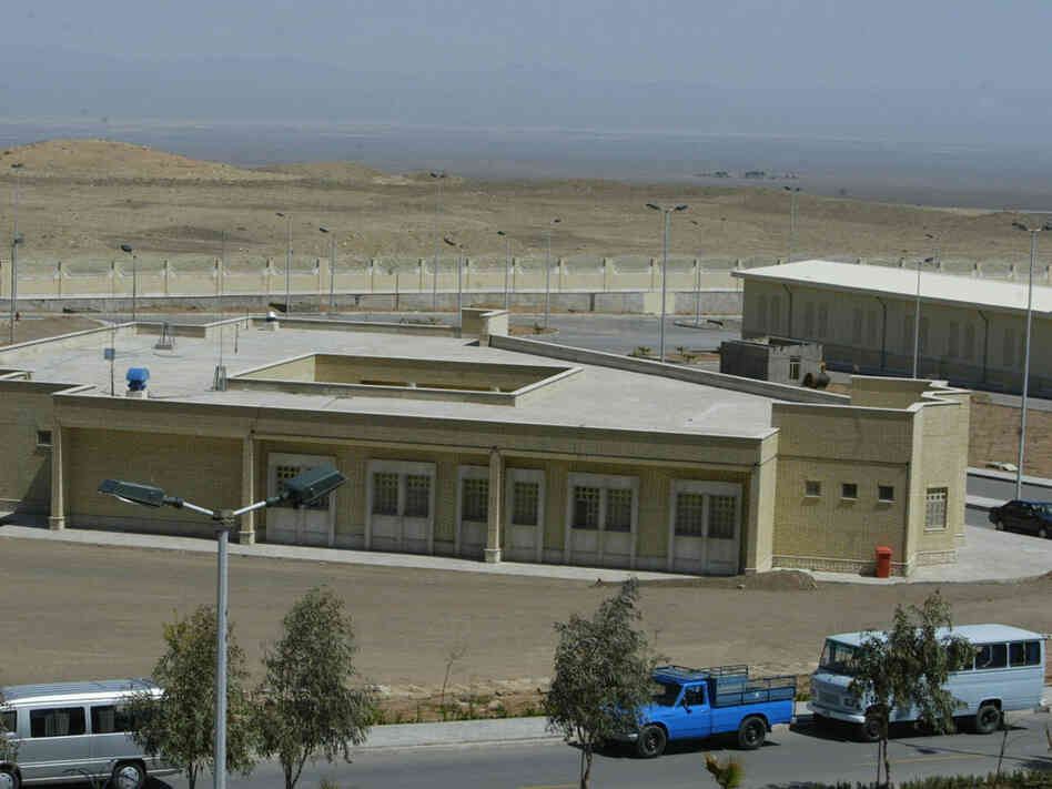 Iranian nuclear power plant at Natanz in 2005