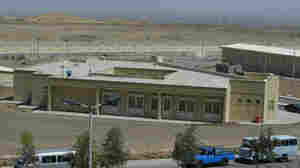 The Iranian nuclear power plant at Natanz