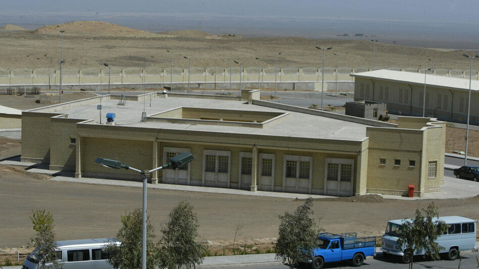 Located about 200 miles south of Tehran, the nuclear facility at Natanz (shown here in 2005) has fed concerns that Iran is seeking to produce nuclear weapons. The International Atomic Energy Agency says Iran is enriching uranium at Natanz and as has already produced enough nuclear fuel for a single nuclear bomb, provided Iran develops the capability to enrich the material further to weapons grade.