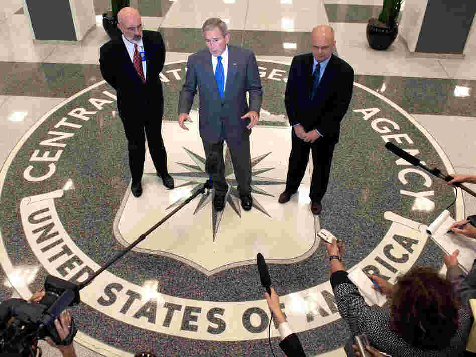 CIA Headquarters in Langley, Virginia, on August 14, 2008.