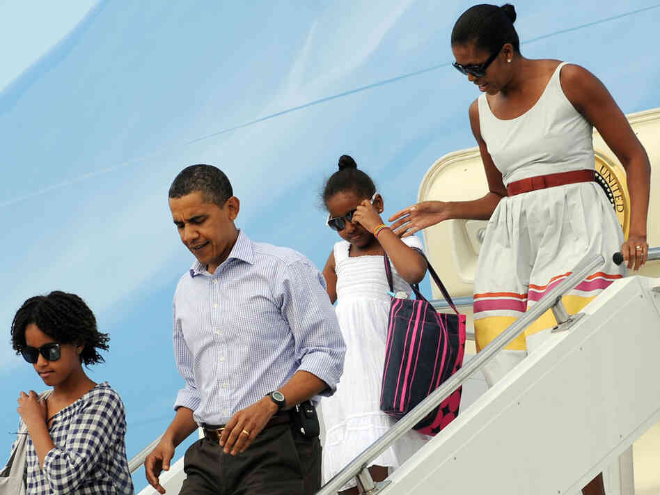 Obamas Visit Martha's Vineyard