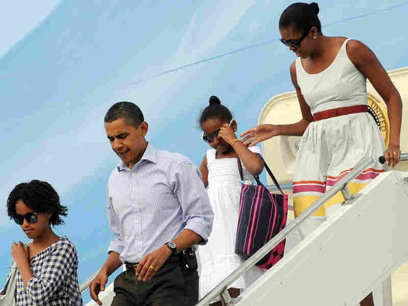 Obamas Visit Martha's Vineyard