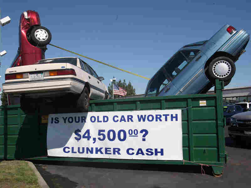 The Cash for Clunkers program ended Monday