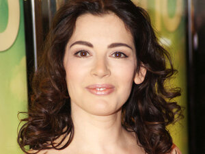 Nigella Lawson recommends combining feta and fresh vegetables for a light summer treat.