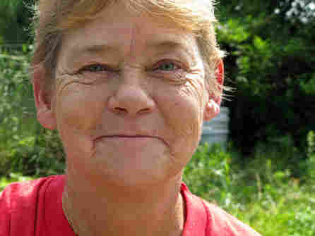 Becky Barbour, 54, refuses to move to Safe Harbor, even though city officials say she must.