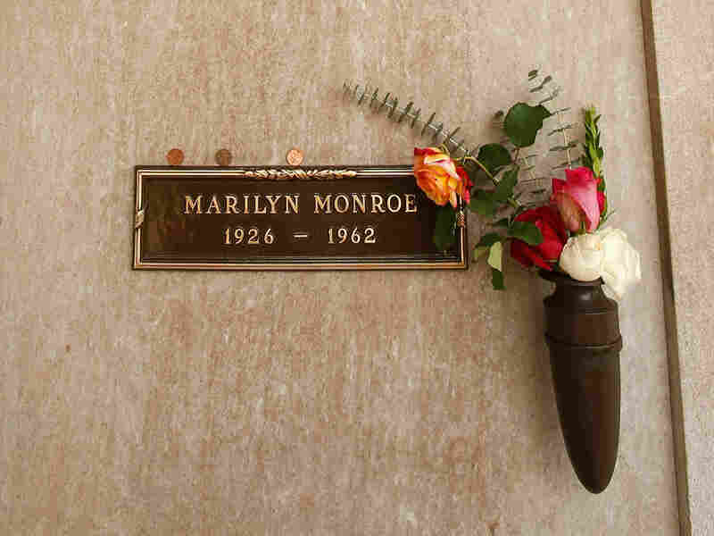 Marilyn Monroe's crypt at Westwood Village Memorial Park cemetery