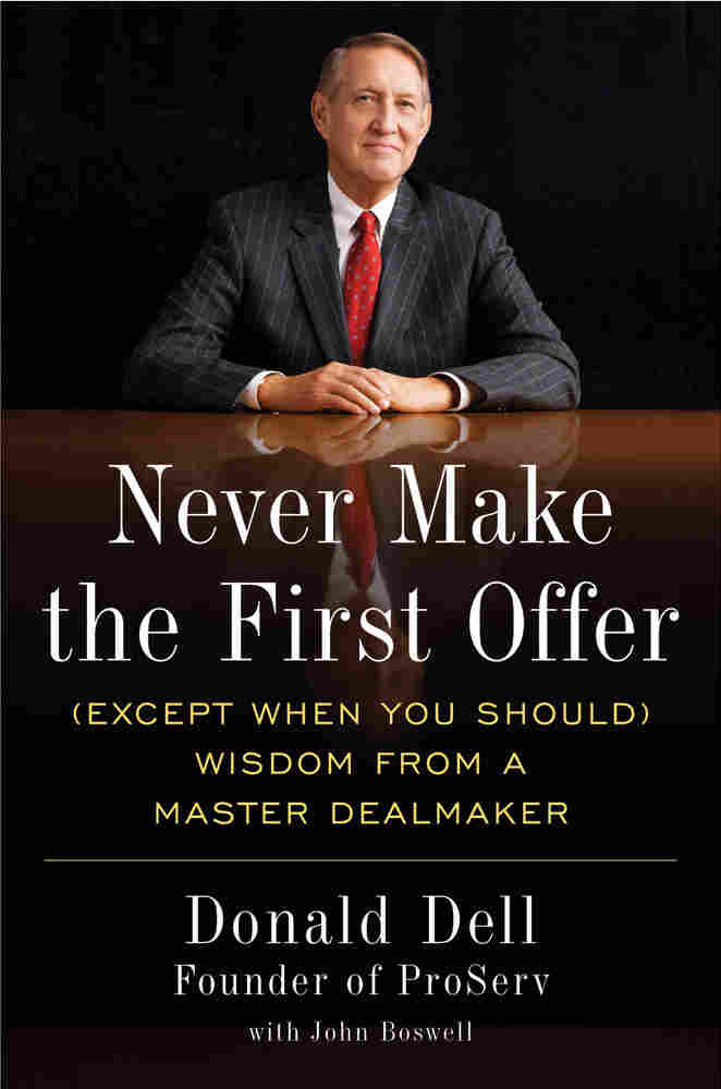 Cover of 'Never Make The First Offer'