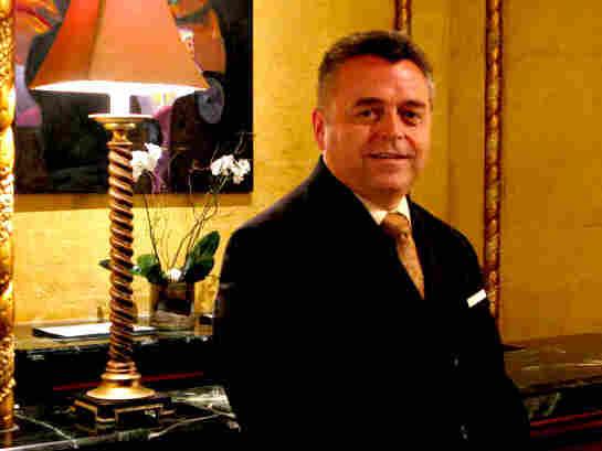 Roosevelt Hotel concierge Barry Richard