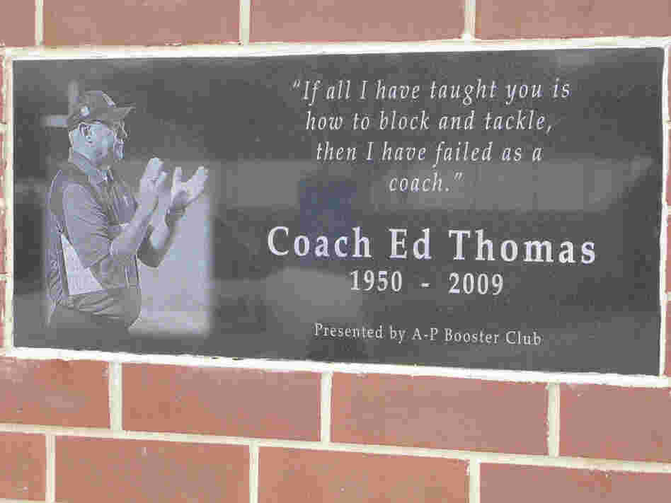 Coach Ed Thomas 1950-2009
