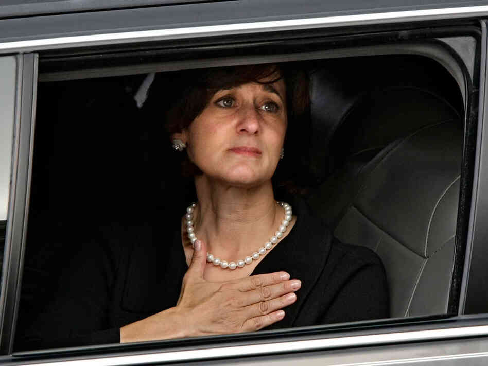 Vicki Reggie Kennedy, the widow of Sen. Edward Kennedy.