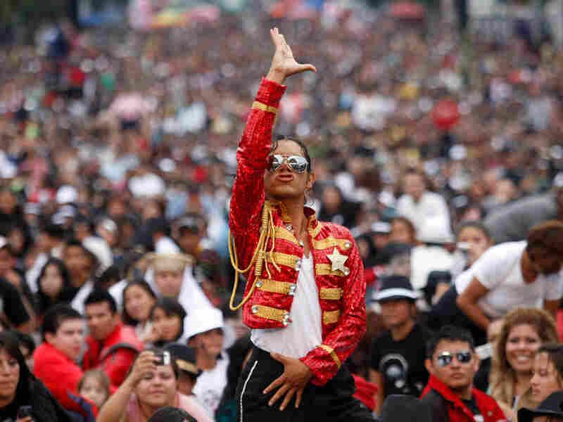 Michael Jackson impersonator Hector Jackson. Dario Lopez-Mills/AP