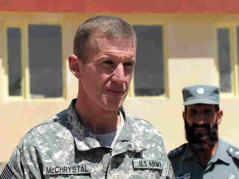 U.S. Gen. Stanley McChrystal