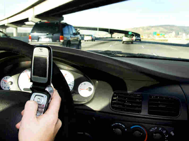 Despite the dangers, many people text while driving.