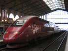 A Thalys high-speed train