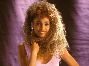 Whitney Houston in 1987