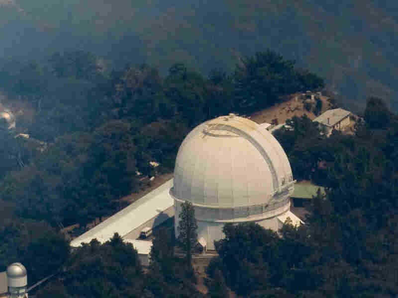Mount Wilson Observatory in California