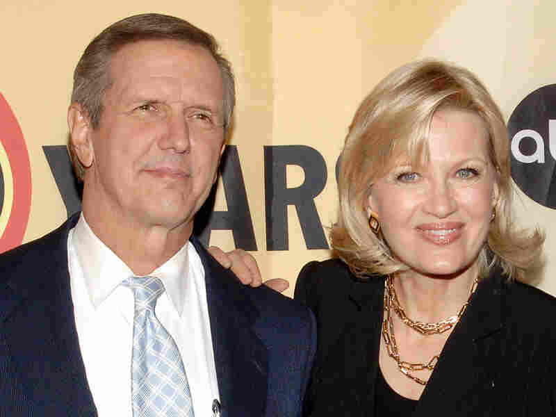 Charlie Gibson and Diane Sawyer