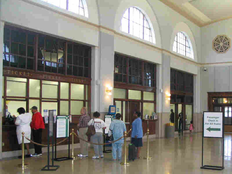Greensboro's historic downtown train station