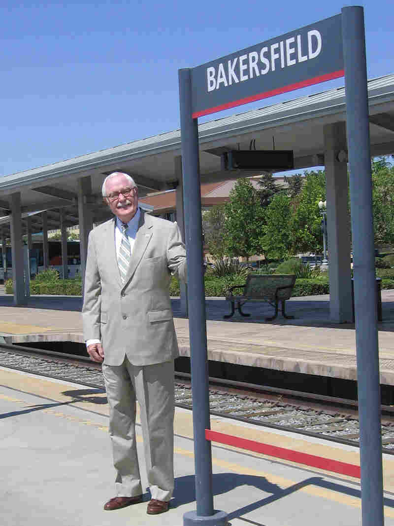 Harvey L. Hall, mayor of Bakersfield, Calif.