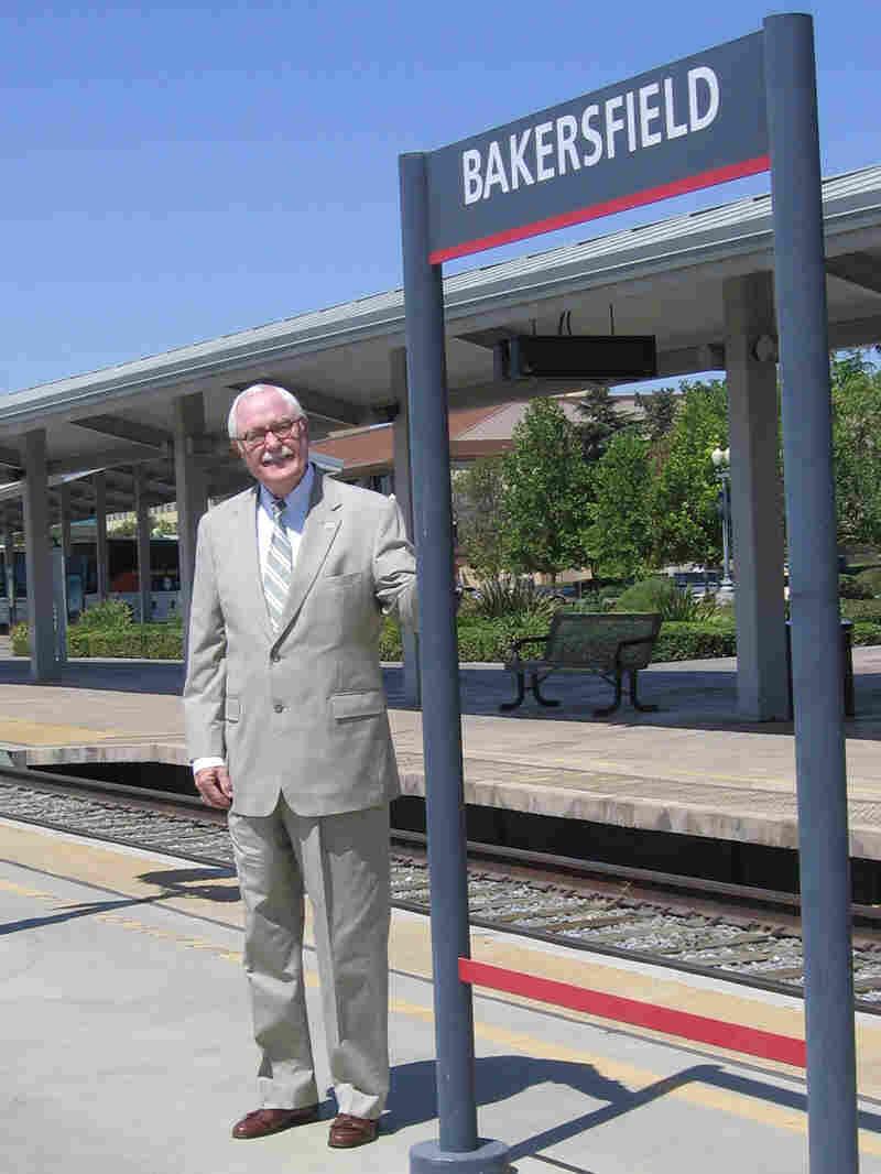 Harvey L. Hall, mayor of Bakersfield, Calif.
