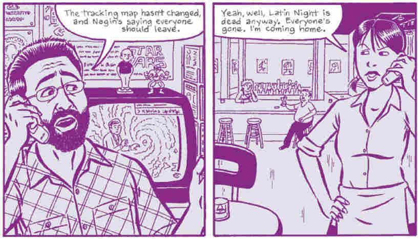 A Comic Strip Excerpt