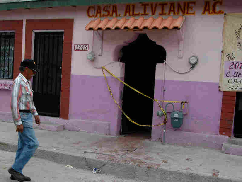 El Aliviane drug rehabilitation center in the Mexican border town of Ciudad Juarez