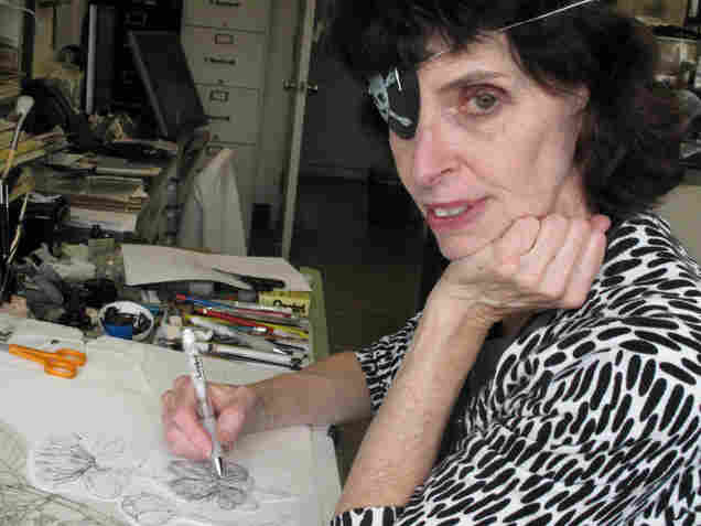Botanical illustrator Alice Tangerini