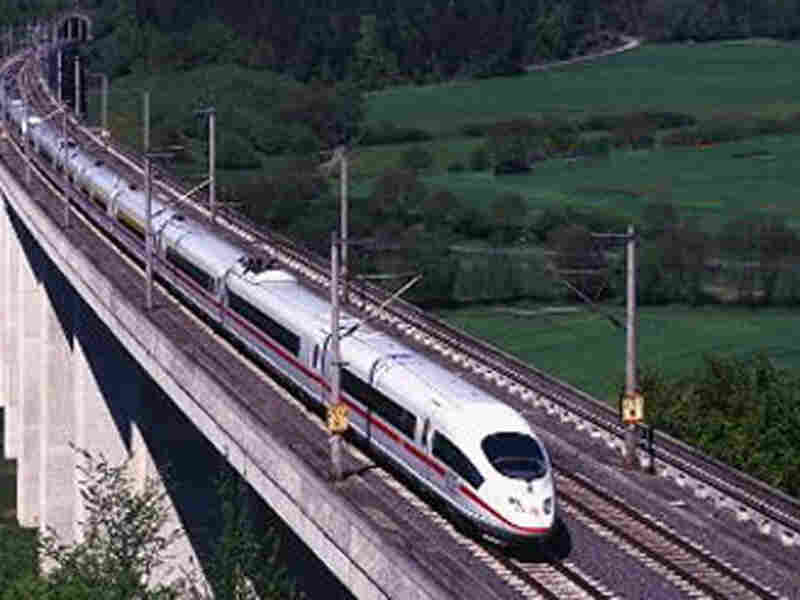 Link To The Midwest High Speed Rail Association's Vision For The Chicago Hub Network