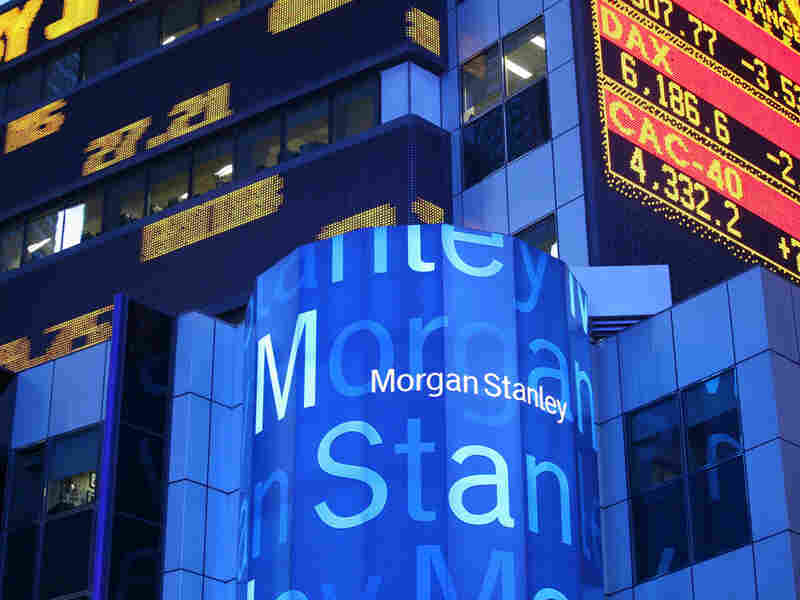 Morgan Stanley headquarters in New York in September 2008