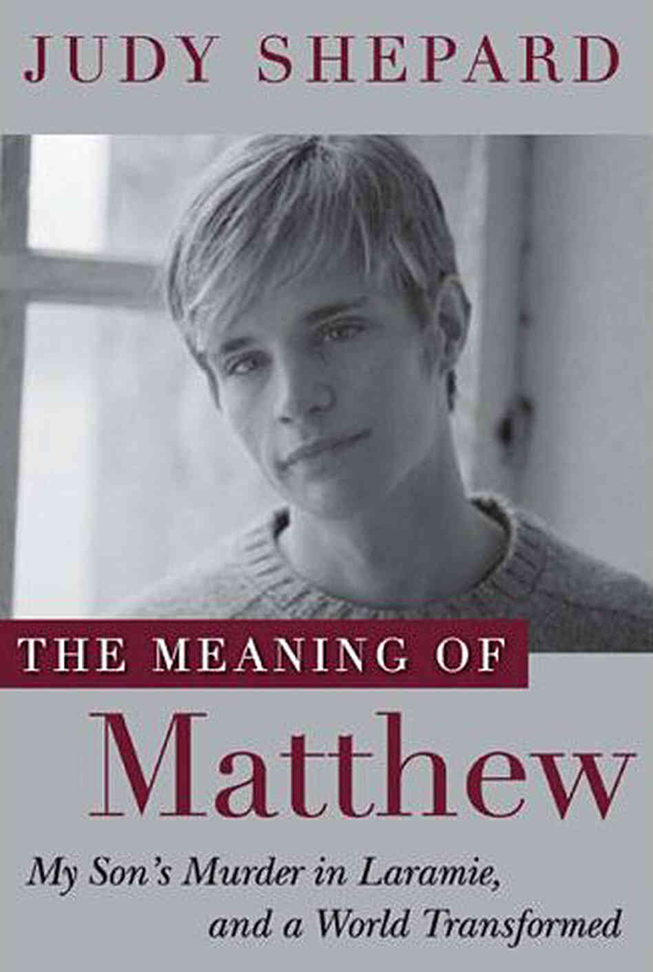 Cover of 'The Meaning of Matthew'
