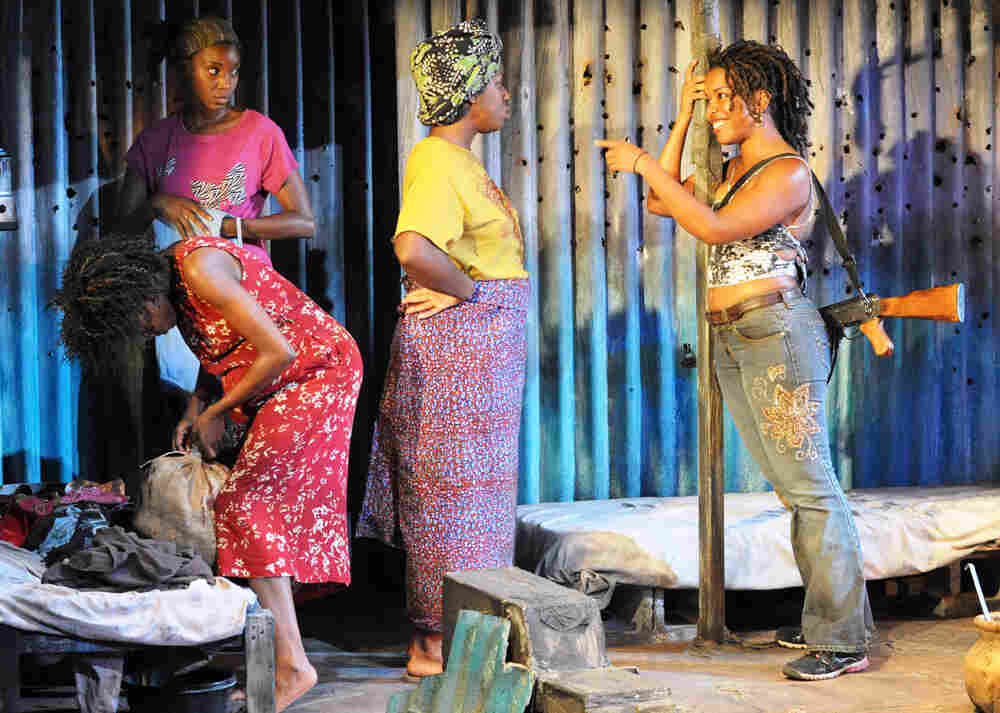 A scene from the 'Eclipsed' by playwright Danai Gurira.