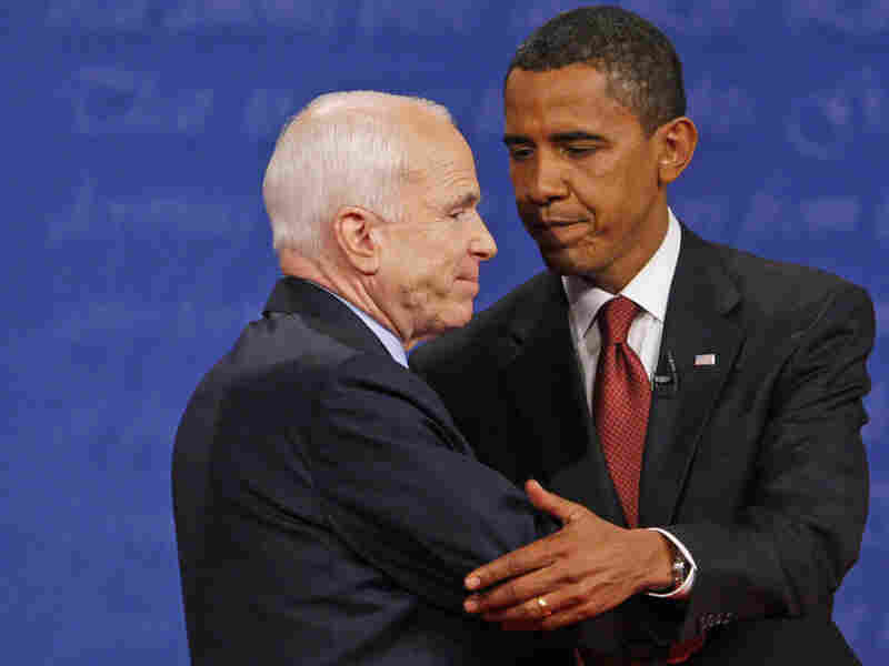 The economic crisis solidified Barack Obama's lead over Sen. John McCain in the presidential race.
