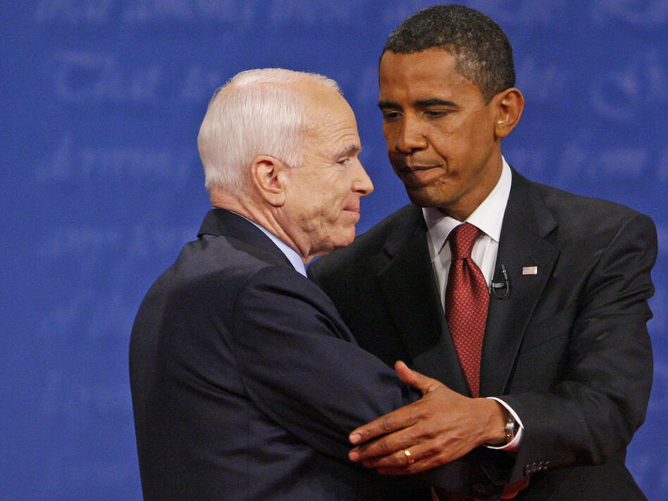 The economic crisis solidified Barack Obama's lead over Sen. John McCain in the 2008 presidential race.