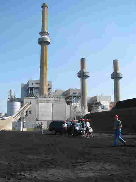 The James River Power Station in Springfield, Missouri, is one of hundreds of coal burning power pla