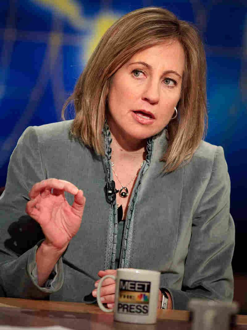 Dee Dee Myers, a former Clinton administration spokeswoman