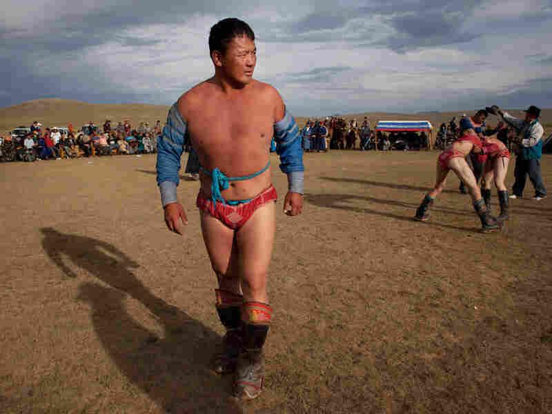 Dorj Batmunkh, second-generation wrestler in Khujirt, Mongolia
